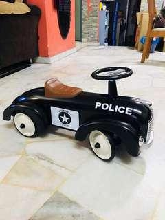 Ride on Police car (Solid metal body)