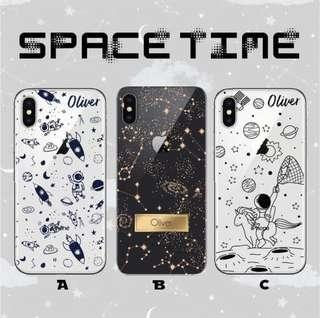 Space time astronaut case