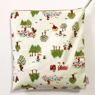 Snap Wetbag Made with Fabric from Japan ** Quality Durable Trusted Zipper brand: YKK *FOC Normal Post.