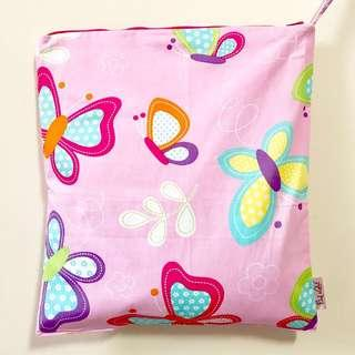 Snap Wetbag Made with Fabric from USA ** Quality Durable Trusted Zipper brand: YKK *FOC Normal Post. Butterfly 🦋