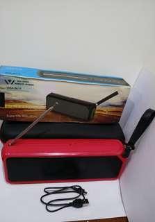 🚚 大牛 WSA-8619 藍牙音響+FM收音機 Bluetooth Speaker+FM Radio
