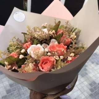 BOUQUET FLOWERS ARTIFICIAL