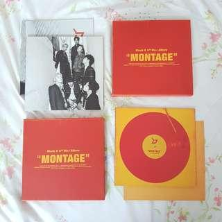 Block B Montage Album / Photocard