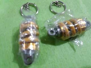 BrandNew Motorcycle Shock Keychain