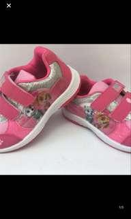 Instock authentic paw partrol kids shoe Skye brand new size 25/26/29/30 limited Stock left !!