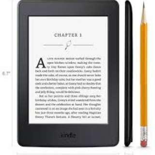 🚚 Kindle Paperwhite w touchscreen, backlight and wifi