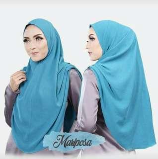 ❤Mariposa Instant❤ Shawl Hijab Tudung for Muslimah