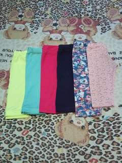6pcs. Assorted Baby Leggings