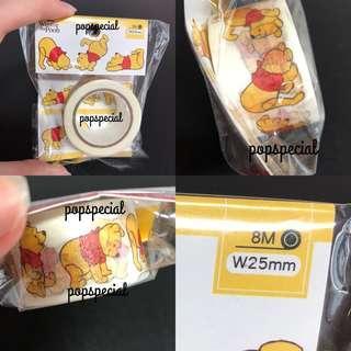 Decoration Use Disney Winnie the Pooh Deco Tape
