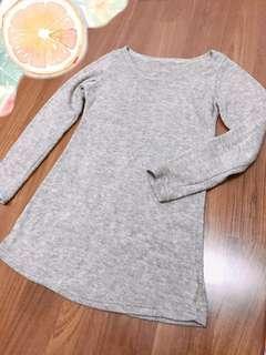 網美系列🌹長版修身毛衣 針織短洋裝#九月女裝半價