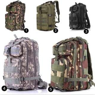 Outdoor camping hiking 25L 3P tactical backpack