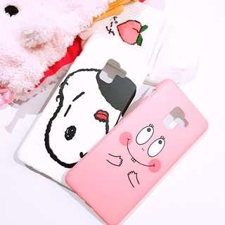 Samsung A8+(2018) Snoopy Barbapapa Phone Case