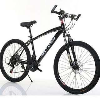 Promo-Brand new 26'' Mountain Bike, with Shimano 21 speed Shifter,Disc brakes,Suspension etc
