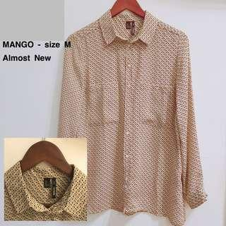 MANGO - Blouse size M