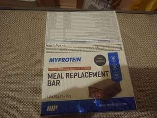 🚚 Myprotein高蛋白低熱量代餐棒