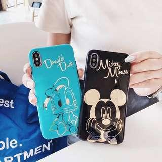 Mickey mouse donald duck iphone 6 6s 7 8 plus + x xr xs max