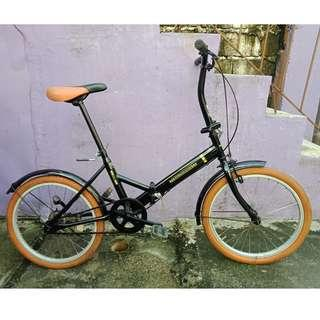OFFROAD COL. FOLDING BIKE (FREE DELIVERY AND NEGOTIABLE!)