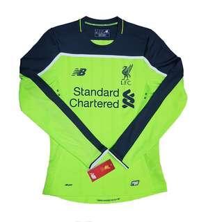 Original BNWT Liverpool FC 2016-2017 Elite Third Shirt (Long Sleeve)