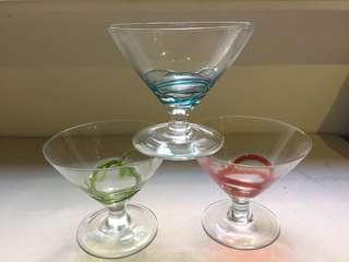 半手工雞尾酒杯(馬丁尼杯)一組6個
