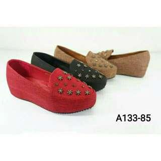 Wedges Wanita Import
