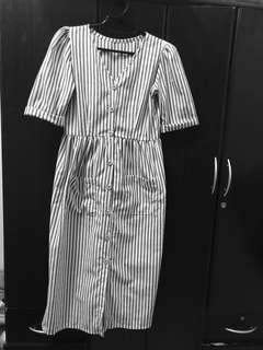 Mango inspired button dress