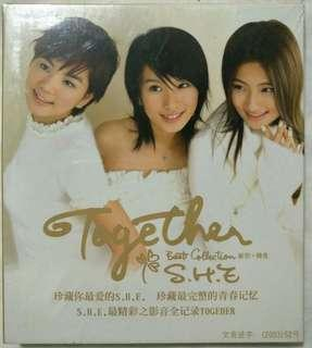[Music Empire] S.H.E - 《Together Best Collection 新歌 + 精选》CD Album