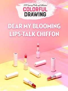 ✨INSTOCK! Etude House Colorful Drawing Limited Edition - Dear my blooming talk