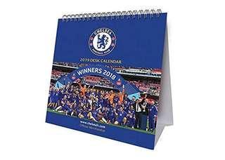 (須預訂) 全新 2019 Official Chelsea Desk Calendar 車路士月歷