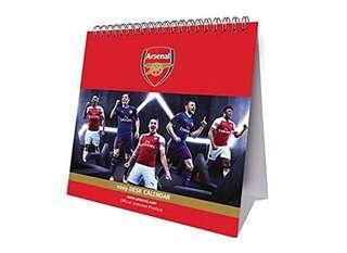 (須預訂) 全新 2019 Official Arsenal Desk Calendar 阿仙奴月歷