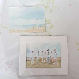 Photo Frame + Postcards - BTS Seasons Greetings 2018 Official