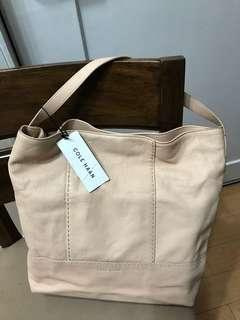 Authentic Cole Haan Leather Vachetta Hobo Shoulder Bag