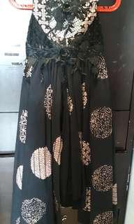 Long Dress Batik Anak