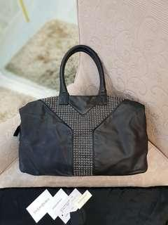 YSL EASY EASY STUDDED ❤️MARK DOWN SALE P35k ONLY❤️ ✖️✖️P38k✖️✖️ In excellent condition With dustbag cards leather swatch Made in Italy Swipe for detailed pics  Cash/card/layaway accepted