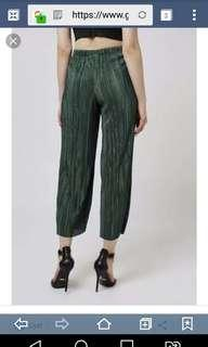 Topshop pleated