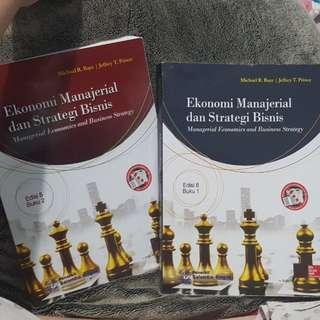 Manajerial economics and business strategy