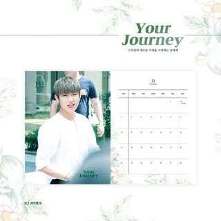 SG GO] JINIUS 2019 Season's greeting  'Your Journey'  by @WOO_JINIUS