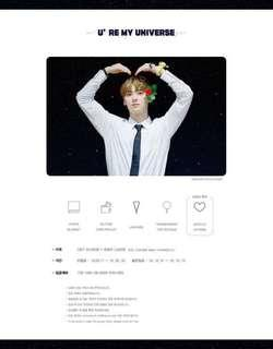 SG GO] 🌌 U're My Universe🌙  - PHOTO BLANKET(150X120cm) by @reminiscent_MH