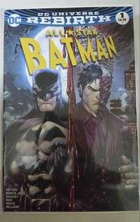 DC COMICS REBIRTH ALL STAR BATMAN #1 KIRKHAM VARIANT