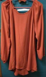 Poplook francine blouse