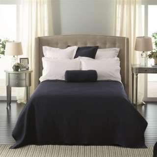 Bed cover 100x150cm Black/Grey