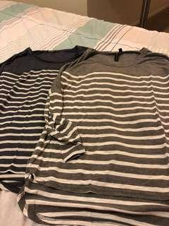 Striped cotton on tops