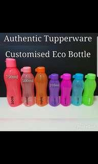 Authentic Tupperware Eco customise assorted colors