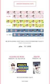 SG GO] 🍒LOVE IT! BUNNY Masking Tape & Laptop Sticker by @may_h529
