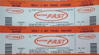 1DAY SPECIAL SALE BATAM FAST FERRY TICKETS (ALL IN) ⛔️ENDED⛔️