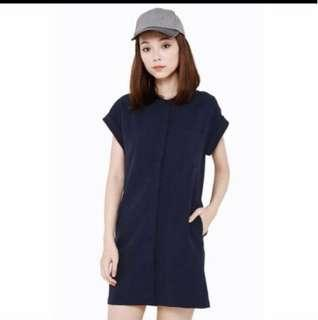 All would envy navy shirt dress