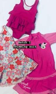 Swimming suit (each rm25)