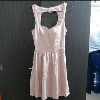 Bershka sexy back dress!size:(s)