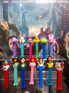 PEZ Candy Dispenser Lot