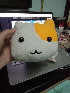 Neko Zanmai Tamago (Egg) Sushi Plush Toy