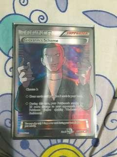 Giovanni's scheme full art